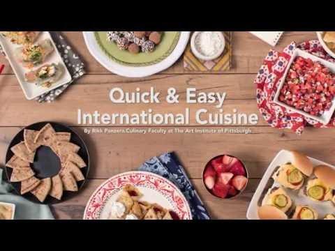 Quick & Easy International Food Recipes   The Art Institutes