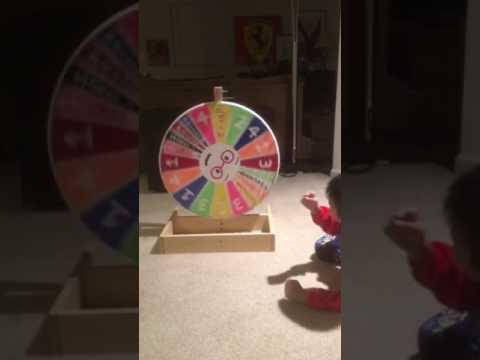 DIY Spin Wheel Prize