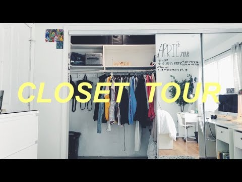 closet tour 2018