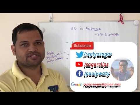 MS in Australia - Future prospects, jobs, PR, Work Visa - International student journey