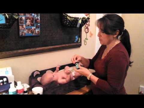 How I use Young Living essential oils on my babies