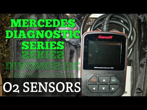 Mercedes O2 Sensors Diagnostics
