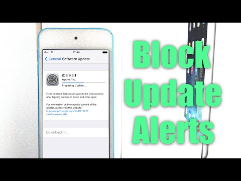 How to Disable iOS Software Update Alerts iOS 9.3 |  iPhone, iPad, iPod touch