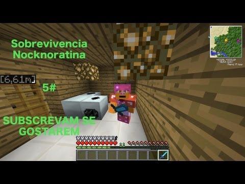 Sobrevivencia Nocknoratina 5# - Uranium Ingot, Compressor e Painel Solar!!
