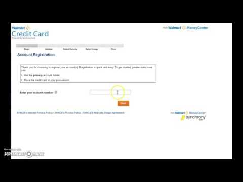 Sign In To Your Walmart Credit Card Online Account