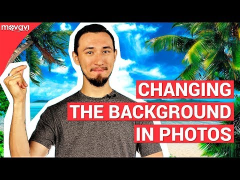 How to change the background in your photos