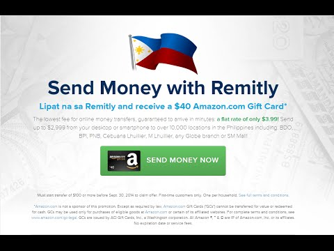 Send money to Philippines online using remitly.com /Money Transfer Online http://remit.ly/1n4gbc7