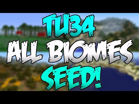 Minecraft PS3 & Xbox 360 - TU34 ALL BIOMES SEED! + Guardian Temple! - (PS4/Xbox One)