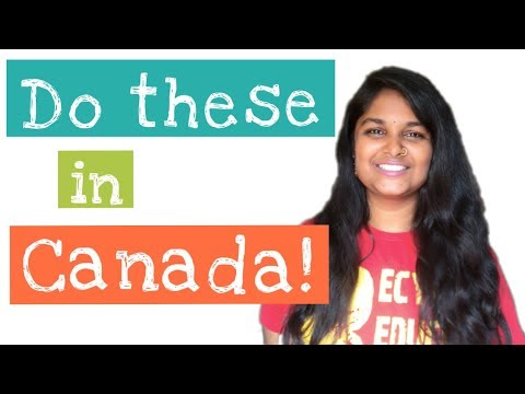 First week formalities in Canada | An Indian Engineer
