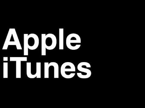 How to Pronounce Apple iTunes Music Store Downloads