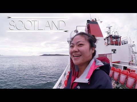 Camping A Night on Isle of Iona  | Travel Diaries