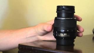 nikon 18-55mm kit lens tip.