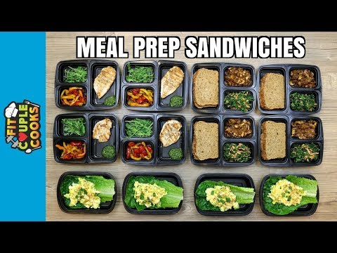 How to Meal Prep - Ep. 70 - Healthy Sandwiches to Kickstart 2018 (Vegan Option)