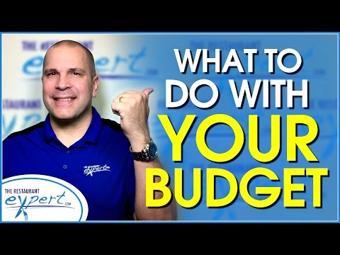 Restaurant Management Tip - Tips for Using a Restaurant Budget #restaurantsystems