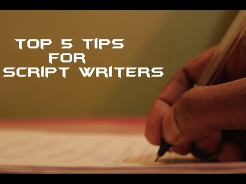 Top 5 Tips for Script Writers in Tamil