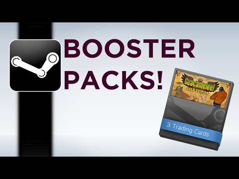 Steam Booster Packs - Explanation and Tutorial