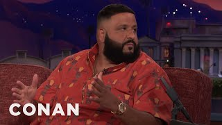DJ Khaled Is Making His Own Soap  - CONAN on TBS