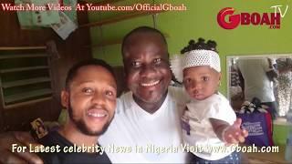 So Emotional! See How Yoruba Actor Sunkanmi Omobolanle celebrate His Dad,Papa Aluwe's Birthday