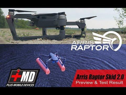 Arris Raptor 2.0 for Mavic Pro with water pontoon