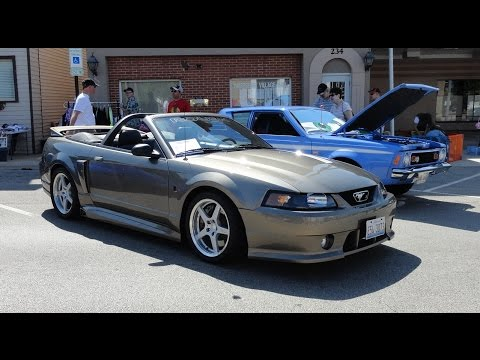 2001 Ford Mustang Roush 3 Convertible with Mineral Gray Paint on My Car Story with Lou Costabile