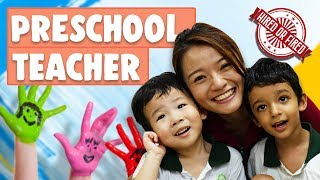 Hired or Fired: Preschool Teacher For A Day