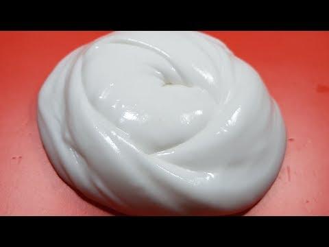 Fluffy Slime No Borax,DIY Fluffy Slime