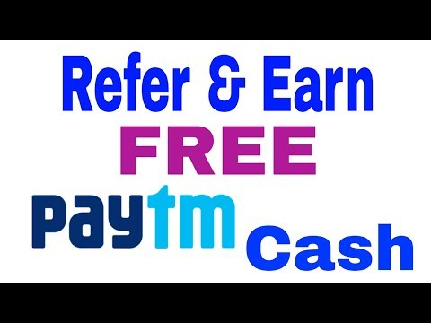 Refer and Earn 1000 / day get paytm cash