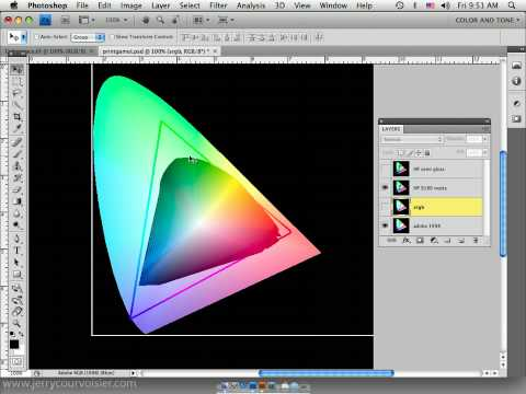 Photoshop CS4 Color Settings