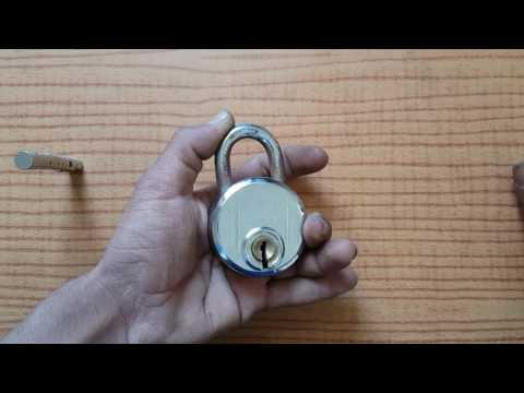 How to open a lock without a key