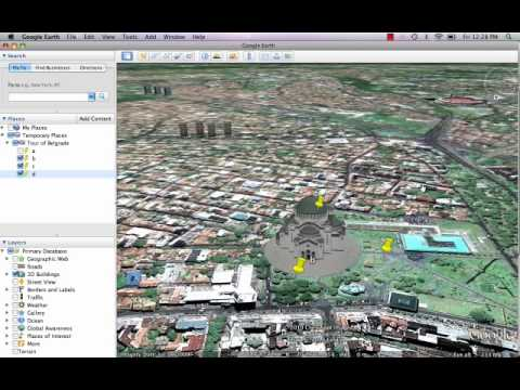 Creating Google Earth Video Tours