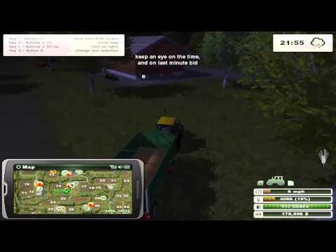 Farming Simulator 2013 Buying field on auction