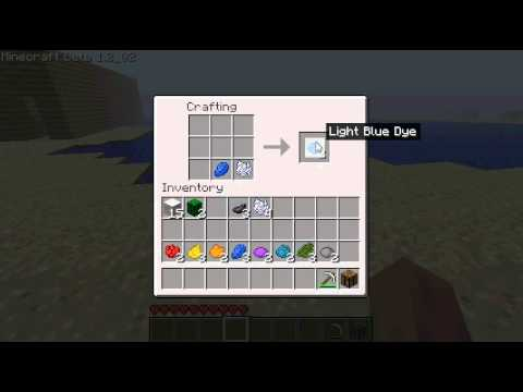 Minecraft Wool Dyes!