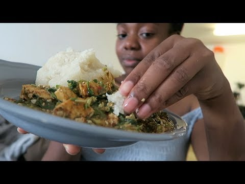 WHAT I EAT IN A DAY  NIGERIAN VEGAN DINNER + FULL BODY WORKOUT