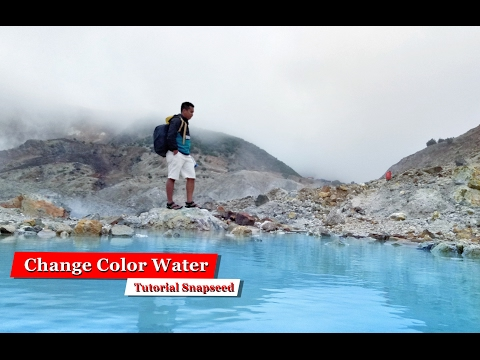 How To Change Color Water With Snapseed