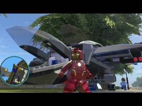 LEGO Marvel Super Heroes (PS4) - Iron Man (Heroic Age) Unlocked + Free Roam Gameplay