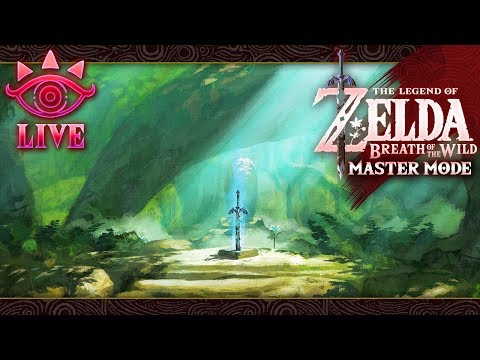 Zelda: Breath of the Wild (Master Mode) LIVE