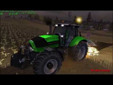 Farming Simulator 2013 Spreading Liquid Manure and Plowin