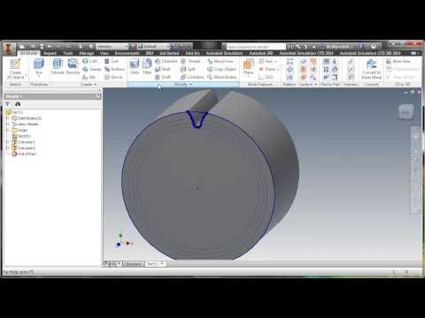 Create Involute Gear System in Inventor
