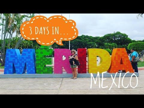 3 DAY IN MERIDA, MEXICO