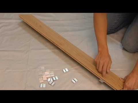 How To Install Solid Hardwood Flooring by Easiklip