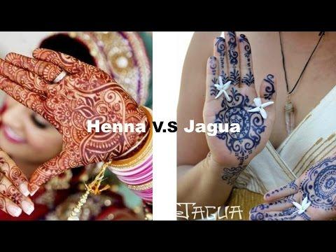 Henna VS  Jagua?!