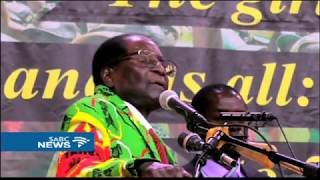 Military have no right to interfere with political processes: Mugabe