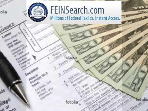 FeinSearch.com - Tax id search, Federal Tax ID,EIN Search, EIN Lookup, Find EIN