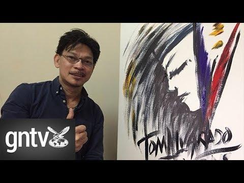 #Pinoy: Filipino singing painter's musical strokes