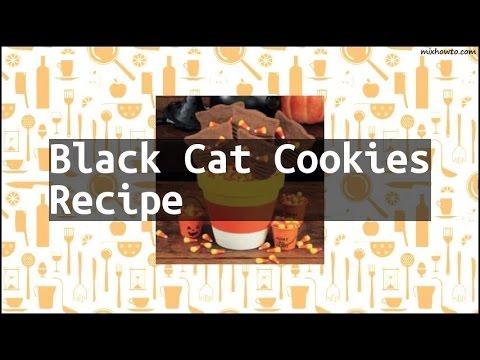 Recipe Black Cat Cookies Recipe