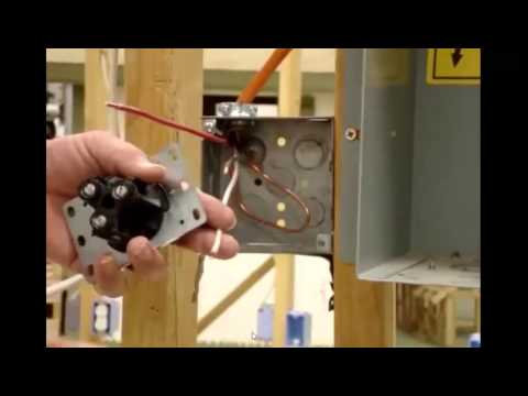 How To Install a 220 volt Receptical -BuildingTheWay