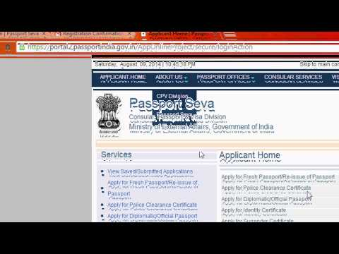 How to apply passport Online in INDIA easily-Latest Version