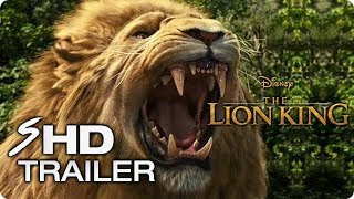 THE LION KING (2019) First Look Trailer - Beyoncé Live-Action Disney Movie Concept