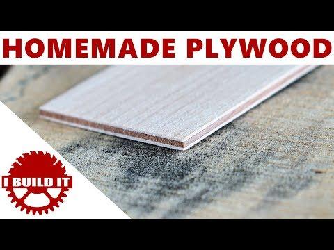Making Thin High Quality Plywood