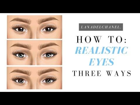REALISTIC EYES - Stardesign JEWELLERY | Three Ways | LanaDelChanel.